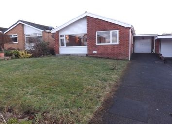 Thumbnail 2 bed detached bungalow to rent in Erw Goch, Ruthin