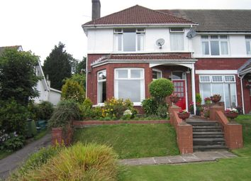 Thumbnail 4 bed semi-detached house for sale in Hillside Park, Bargoed