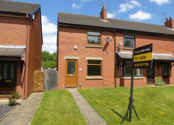 Thumbnail 2 bed end terrace house for sale in Talke Road, Alsager, Stoke-On-Trent