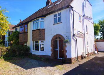 Thumbnail 5 bedroom semi-detached house for sale in De Vere Road, Colchester