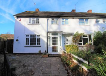 Thumbnail 3 bed end terrace house for sale in Linton Avenue, Borehamwood