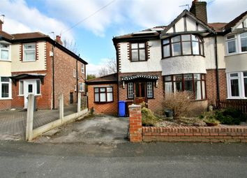 Thumbnail 3 bed semi-detached house for sale in Saxon Avenue, Crumpsall, Manchester