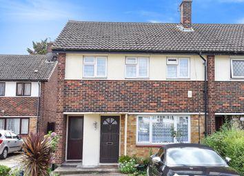 Thumbnail 3 bedroom end terrace house for sale in Wisbeach Road, Croydon