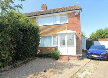 Thumbnail 3 bedroom semi-detached house for sale in Lesley Close, Bexhill On Sea, East Sussex