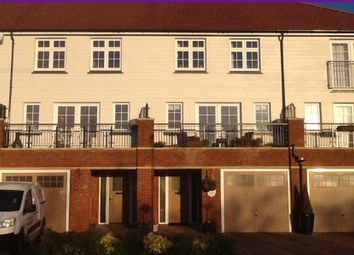 Thumbnail 4 bed town house to rent in Lakeside Avenue, Faversham