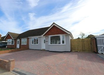 Thumbnail 2 bed semi-detached bungalow for sale in Levett Avenue, Polegate, East Sussex