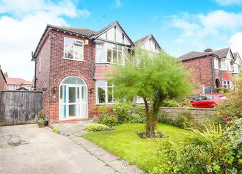Thumbnail 3 bed semi-detached house for sale in Northcliffe Road, Offerton, Stockport