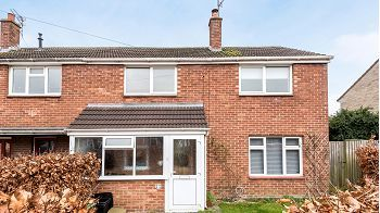 Thumbnail 3 bed end terrace house for sale in Westleigh, Warminster, Wiltshire