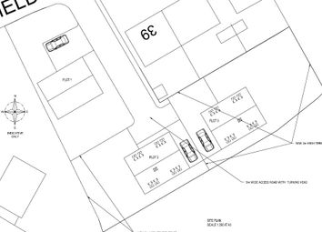 Thumbnail 4 bed detached bungalow for sale in Plot 2, Springfield Road, Grimethorpe, Barnsley