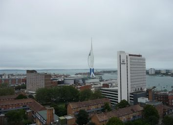 Thumbnail 1 bed flat to rent in Admiralty Tower, Queen Street, Portsmouth