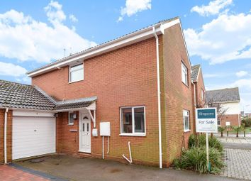 Thumbnail 3 bed link-detached house for sale in Curtis Avenue, Abingdon