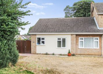 Thumbnail 3 bed semi-detached bungalow to rent in Tostock, Bury St Edmunds, Suffolk