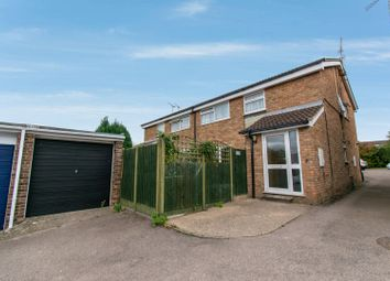 Thumbnail 1 bed flat for sale in Buckfast Close, Leicester