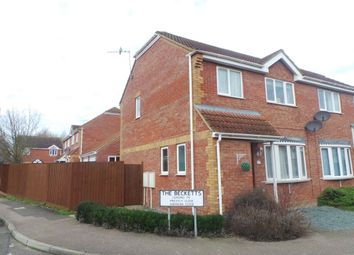 Thumbnail 3 bed terraced house to rent in The Becketts, Stowmarket, Suffolk