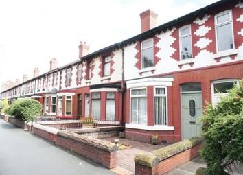 Thumbnail 3 bed terraced house to rent in Chester Road, Town Centre, Warrington