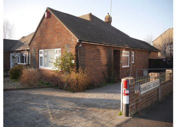 Thumbnail 2 bedroom semi-detached bungalow for sale in Pinnocks Avenue, Gravesend