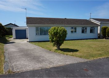Thumbnail 3 bed detached bungalow for sale in Glantraeth Estate, Valley