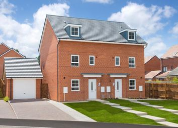 "Thumbnail 4 bed end terrace house for sale in ""Woodcote"" at Barmston Road, Washington"