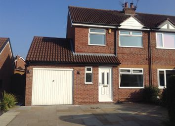 Thumbnail 3 bed semi-detached house to rent in Barnaby Road, Poynton, Cheshire