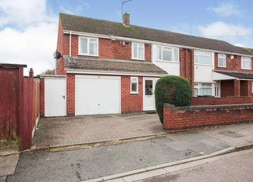 Thumbnail 4 bed semi-detached house for sale in Berwyn Avenue, Whitmore Park, Coventry, West Midlands