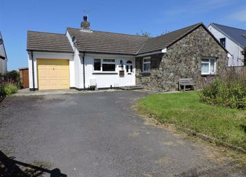 Thumbnail 3 bedroom detached bungalow for sale in Bryn Henllan, Dinas Cross, Newport