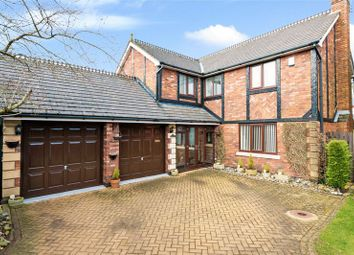 Thumbnail 5 bed detached house for sale in Croft Hey, Rufford, Ormskirk