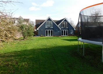 Thumbnail 6 bed detached house for sale in Middlewood Green, Stowmarket