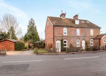 Thumbnail 3 bed terraced house for sale in Kings Head Cottages Badsell Road, Five Oak Green, Tonbridge