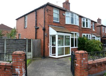 Thumbnail 3 bed semi-detached house to rent in School Grove, Withington, Manchester