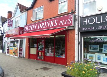 Thumbnail Retail premises for sale in 49 Warwick Road, Solihull