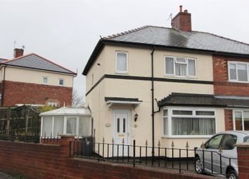 Thumbnail 2 bed semi-detached house for sale in Laburnum Road, Darlington