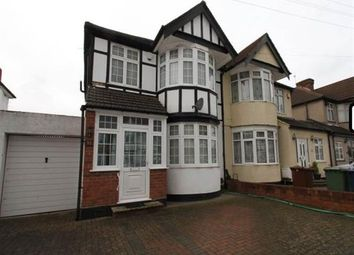 Thumbnail 4 bed semi-detached house to rent in Kingshill Avenue, Harrow
