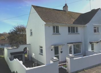 Thumbnail 3 bed end terrace house for sale in Garth Road, Torquay