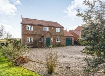 Thumbnail 4 bed detached house for sale in Pinchbeck Lane, Croft, Skegness