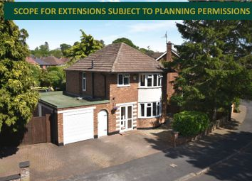 Thumbnail 3 bed detached house for sale in Granville Avenue, Oadby, Leicester
