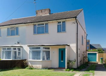 Thumbnail 3 bed semi-detached house for sale in Bramley Crescent, Southampton