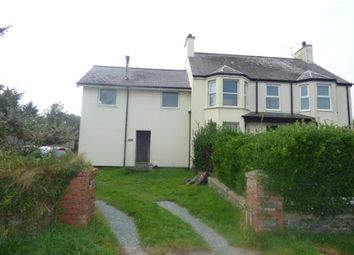Thumbnail 3 bed semi-detached house for sale in Golf Road, Pwllheli, Gwynedd