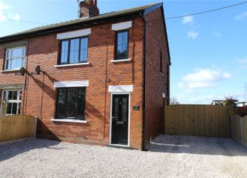 Thumbnail 2 bed semi-detached house for sale in Scallow Grove Cottages, Kirton Road, Messingham, North Lincolnshire