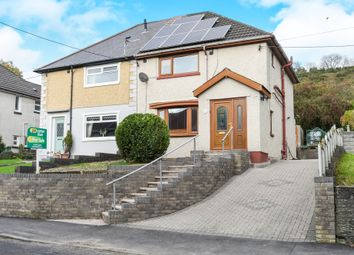 Thumbnail 3 bed semi-detached house for sale in Tylchawen Terrace, Tonyrefail, Porth