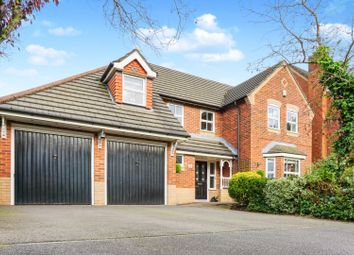 Thumbnail 5 bed detached house for sale in Chesterton Drive, Warrington