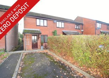 Thumbnail 2 bed semi-detached house to rent in Caernarvon Gardens, Chandler's Ford, Eastleigh