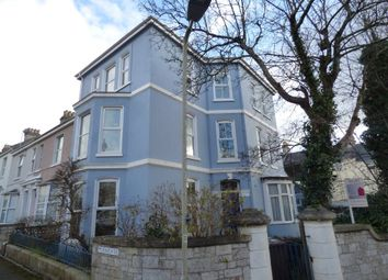 Thumbnail 1 bed flat to rent in Pentillie Road, Plymouth, Devon