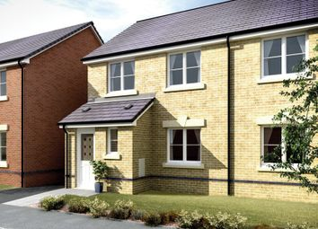 Thumbnail 3 bedroom semi-detached house for sale in The Ogmore, Gerddi Pentref, Coity, Bridgend