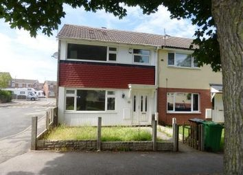 Thumbnail 3 bed end terrace house to rent in Woolsington Close, Strelley, Nottingham