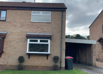 Thumbnail 2 bed semi-detached house to rent in Borrowdale Crescent, Dinnington, Sheffield