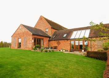 Thumbnail 4 bed barn conversion for sale in Watery Bank, Bishops Wood, Stafford