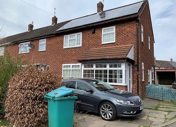 Thumbnail 3 bed end terrace house to rent in Hillary Road, Manchester