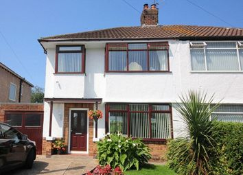 Thumbnail 3 bed semi-detached house for sale in Greenacre Close, Hunts Cross, Liverpool