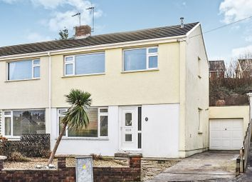 Thumbnail 3 bed semi-detached house for sale in Heol-Y-Bardd, Bridgend