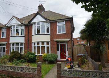 Thumbnail 3 bedroom semi-detached house for sale in Barton Road, Felixstowe